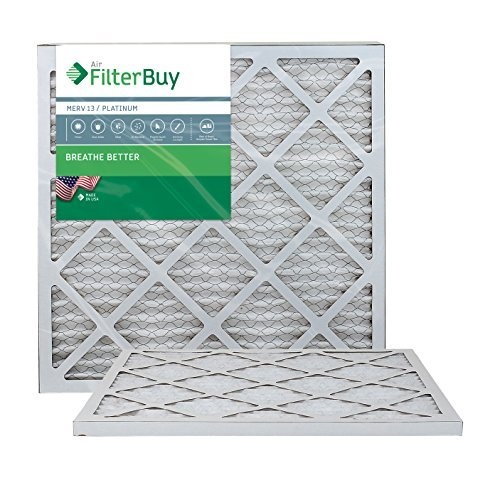 AFB Platinum MERV 13 18x20x1 Pleated AC Furnace Air Filter. Filters. 100% produced in the USA. by FilterBuy by FilterBuy