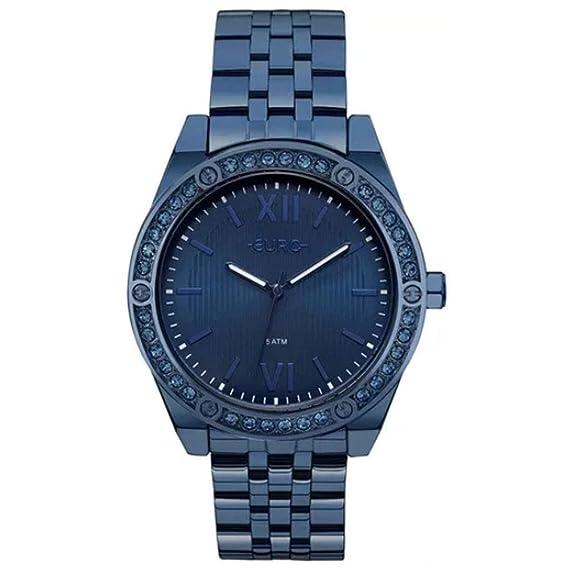 0637c58779 Relógio Euro Feminino Analógico EU2035YNA 4A - Azul  Amazon.com.br ...