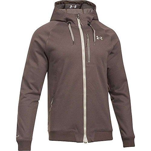 Under Armour ColdGear Infrared Dobson Softshell Jacket - Men's Maverick Brown / Greystone - Greystone Finish