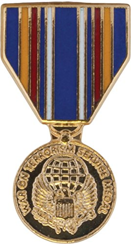 Global War On Terrorism Service Medal Hat Pin