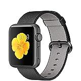 APPLE(アップル) Apple Watch Sport 42mmスペースグレイアルミニウムケースとブラックウーブンナイロン