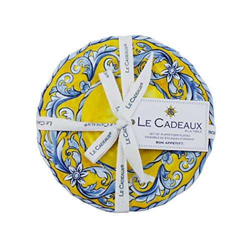 Le Cadeaux Melamine Porto - Set of 4 Appetizer plates