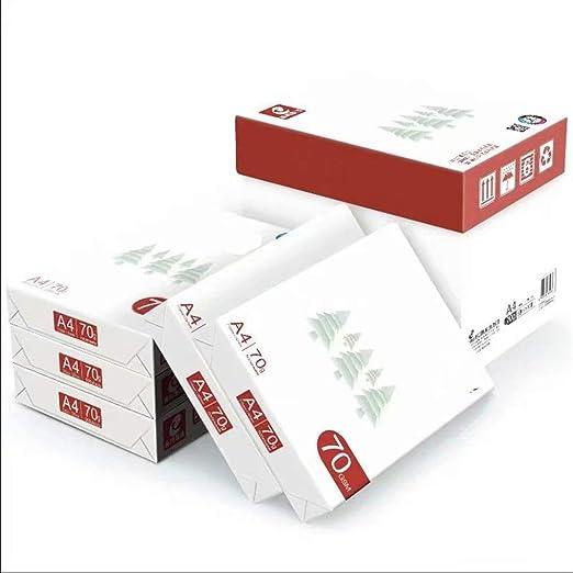 KIMIBen A4 Papel para Impresora A4 de Doble Cara del Libro Blanco ...