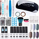 Best Gel Nail Polish Kits - Gellen Gel Nail Polish Starter Kit - Winter Review