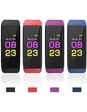 LIOPIO étanche Smart Bracelet Distance fréquence Cardiaque Sang oxygène Fitness Bracelet Cardiofréquencemètres