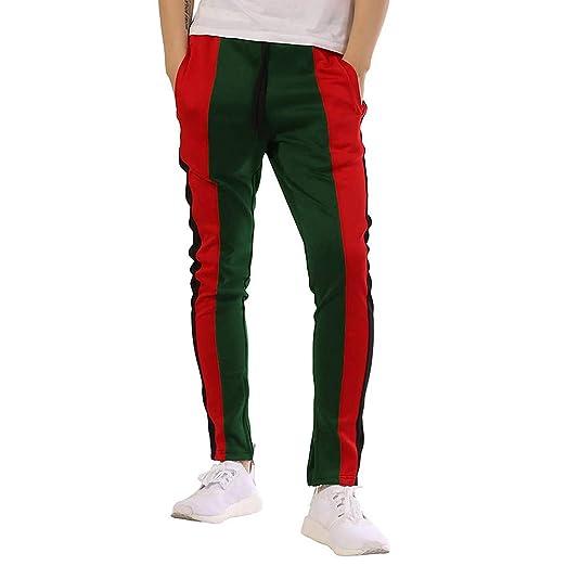 6d685e2c0a PASATO Clearace Sale! Fashion Men s Sport Jogging Fitness Pant Casual Loose  Sweatpants Drawstring Pant(