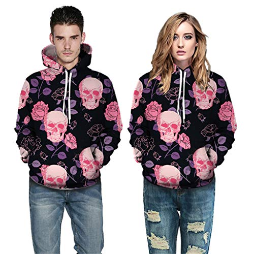 Shining Twins Costumes Guys - FEDULK Halloween Costume Hoodies Pullover 3D