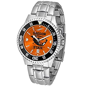 Oregon State Beavers Men's Stainless Steel Dress Watch