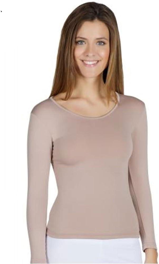 YSABEL MORA - Camiseta TERMICA Mujer Color: Vison Talla: x-Large: Amazon.es: Ropa y accesorios