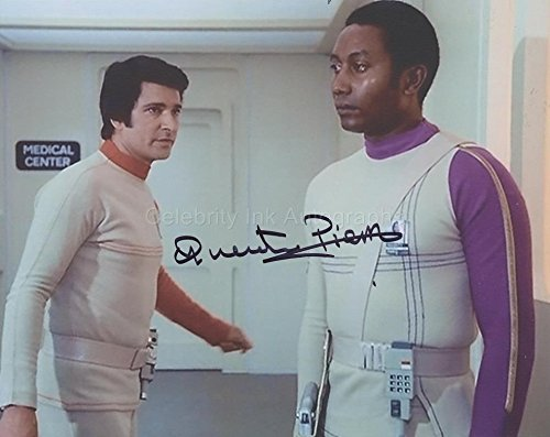 QUENTIN PIERRE as Security Guard Pierre - Space: 1999 GENUINE AUTOGRAPH