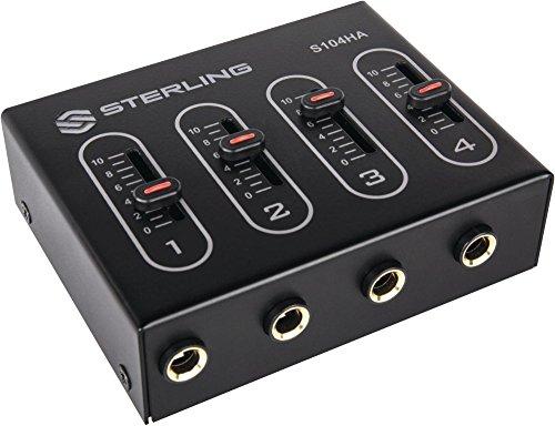Sterling Audio S104H 4-Channel Headphone Amplifier