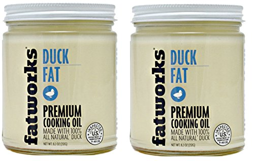 Duck Fat, Cage-Free, All Natural, 8 Oz (2 Jars)