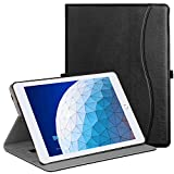 Ztotop Case for iPad Air 10.5' (3rd Gen) 2019/iPad Pro 10.5' 2017, Premium Leather Business Slim Folding Stand Folio Cover for New iPad Tablet with Auto Wake/Sleep, Multiple Viewing Angles, Black