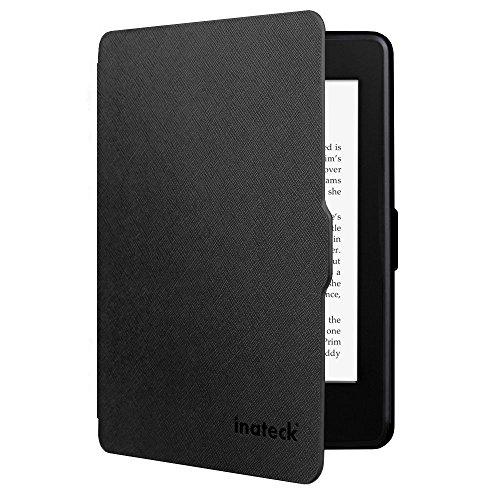 Inateck Kindle Paperwhite Hülle Case für Amazon alle neue Kindle Paperwhite 2015 300 PPI 3.Generation/2014/2013/2012, mit Auto Sleep Wake Funktion, Schwarz