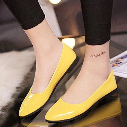 Sandales Jaune Upxiang Upxiang Sandales Femme Pour qHxOUE8na