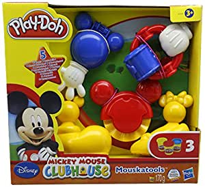 Play-Doh - Mickey kit: estampa y corta (Hasbro A0556E24)