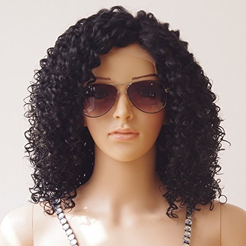 Hibaby Hair Brazilian Full Lace Human Hair Wigs Wet Wavy Beyonce Lace Front Human Hair Wigs Virgin Human Hair Lace Front Wigs Black Women(12 inch with 150% density) by Hibaby Hair (Image #3)