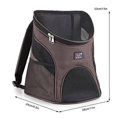 Travel backpack for puppy dog cat & any pet (Canned Milk Cover compare prices)