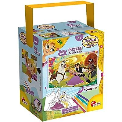 Lisciani Giochi Rapunzel Puzzle In A Tub Mini 60 Pezzi 35 X 50 Cm 659290
