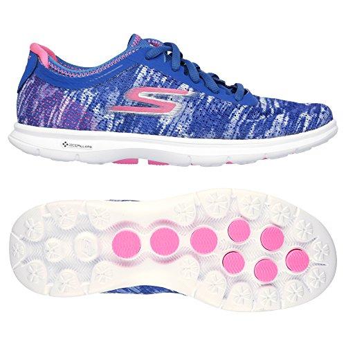 Skechers Go Step (Blue Pink) - 1
