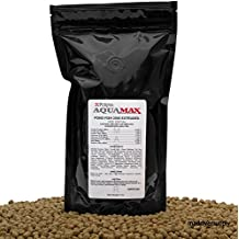 """Purina Mills Aquamax Pond Fish 2000, 32 Percent Protein, 5/16""""(7.9mm) Floating Pellet For Catfish, Tilapia, Large Koi And Goldfish, Carp, And Many Other Omnivorous Fish That Normally Populate Ponds 16 Ounces"""