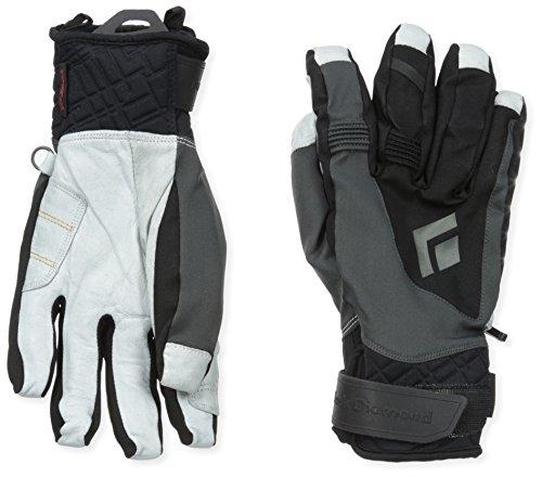 (Black Diamond Impulse Cold Weather Gloves, Black,)