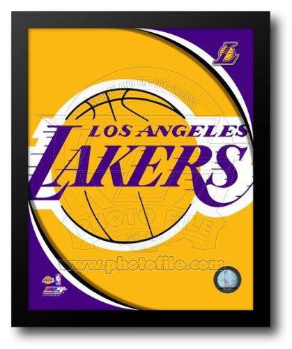 Los Angeles Lakers Team Logos 12x14 Framed Art Print