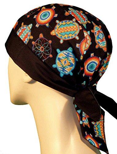 24c230e9634 Skull Cap – Biker Style Headwraps Doo Rags - Beaded Turtles - Buy ...
