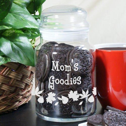 Jars Custom Candy (Grandma's Goodies Personalized Treat Jar, 5.5