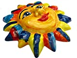 The Jester Sun - Hee Hee!! - Ceramic Sun Hand Painted In Spain
