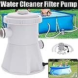 JPOQW Swimming Pool Filter Pump Pool Cleaner 110V Electric Filter Pump Circulation Pump