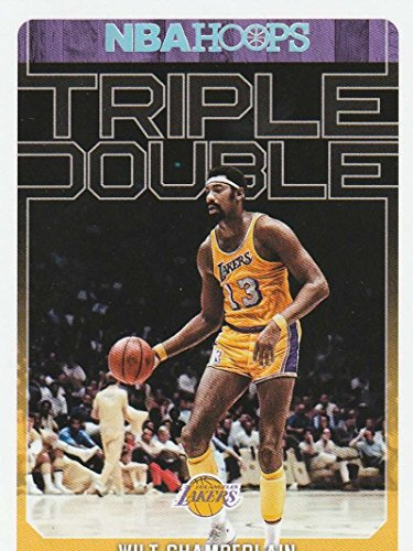2017-18 Panini Hoops Triple Double #5 Wilt Chamberlain Los Angeles Lakers Basketball ()