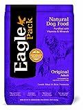 Eagle Pack Natural Pet Food, Original Adult Lamb Meal and Rice Formula for Dogs, 15-Pound Bag