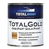 TotalBoat TotalGold Gold Metallic Paint (Quart)