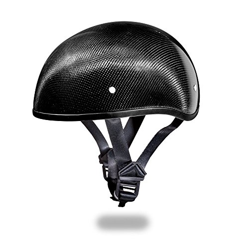 Low Profile Carbon Fiber Motorcycle Helmets - 5