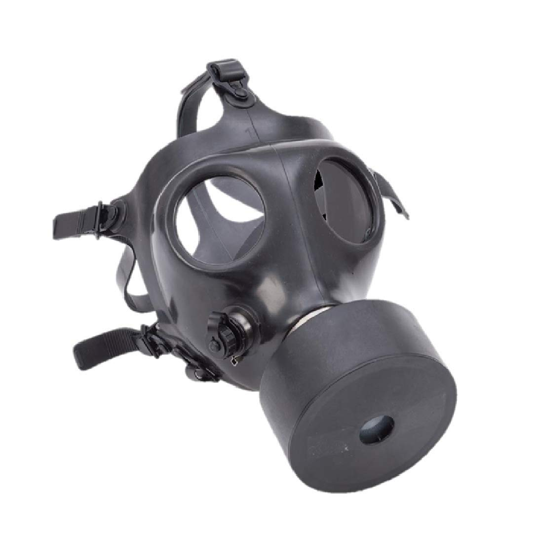 Israeli Rubber Respirator Mask for NBC Protection, Industrial Use, Chemical Handling, Painting, or Welding - with Drinking Straw by Mcguire Gear