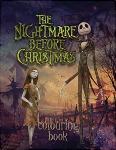 The Nightmare Before Christmas Colouring Book Amazon Co Uk Jessie