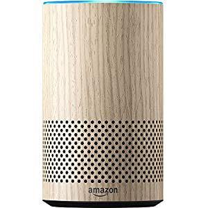 Echo (2nd Generation) - Oak Finish + Amazon Smart Plug