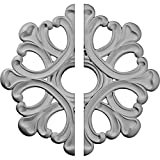 Ekena Millwork CM20AN2 20 7/8''OD x 3 5/8''ID x 1''P Angel Ceiling Medallion, Fits Canopies up to 4-3/8'', 2 Piece