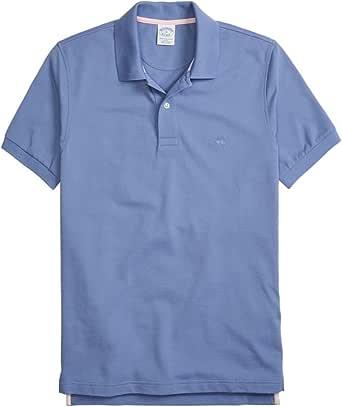 BROOKS BROTHERS Red Fleece Sport Shirt (49402) Camisa, Azul ...