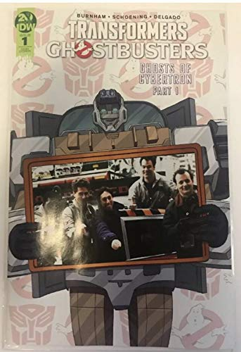 (Transformers Ghostbusters #1 2019 Fan Fest Exclusive 35th Anniversary Variant IDW Comic Book in NM Condition Near Mint Ghost Busters)