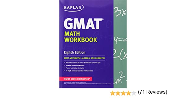 Kaplan GMAT Math Workbook (Kaplan Test Prep): Kaplan ...