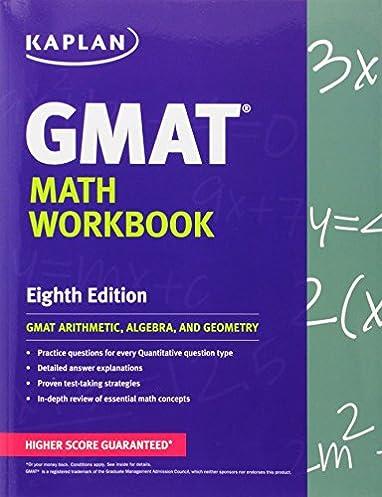 kaplan gmat math workbook kaplan test prep kaplan 9781609780982 rh amazon com Advanced Mathematical Formulas Glencoe Advanced Mathematical Concepts 2006
