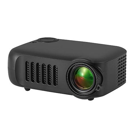 Zhhlinyuan Mini Proyector Pantalla Full HD 1080P y 14 : Amazon ...