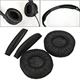 Replacement Ear Pads With Headband Cushions For Sennheiser PX100 PX200 Headphone