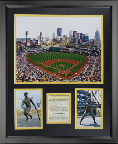 Legends Never Die Pittsburgh Pirates - PNC Park Framed Photo Collage, 16