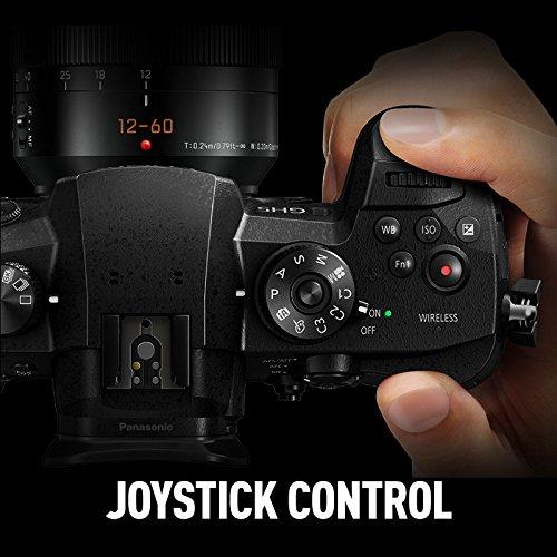 PANASONIC LUMIX GH5 4K Digital Camera, 20 3 Megapixel Mirrorless