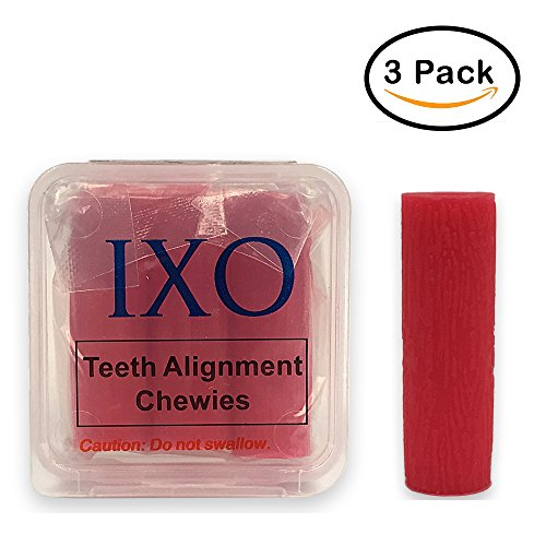 IXO Aligner Chewies for Invisalign Trays, Mint, Clear Tray to Speed Up Treatment, Soft & Spongy, Small Roll, Reduce Gaps in Teeth, Beautiful Smile, Smooth and Quick Multi Colors (5 PCs)