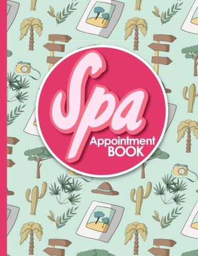 Download Spa Appointment Book: 6 Columns Appointment List, Appointment Scheduling Book, Easy Appointment Book, Cute Safari Wild Animals Cover (Volume 47) pdf
