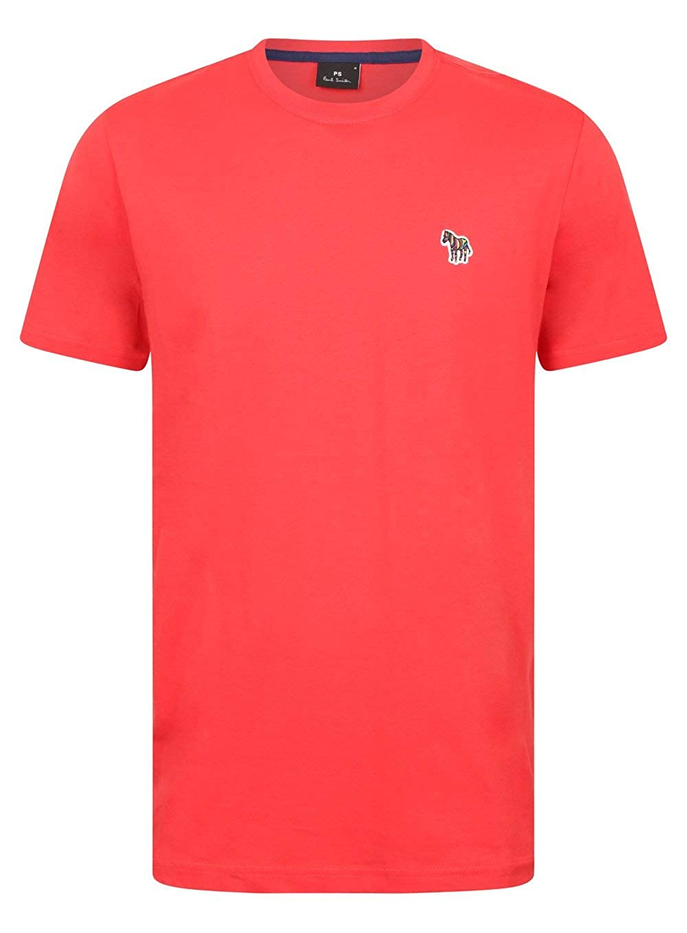 Paul Smith Zebra Badge T-Shirt in Raspberry Red